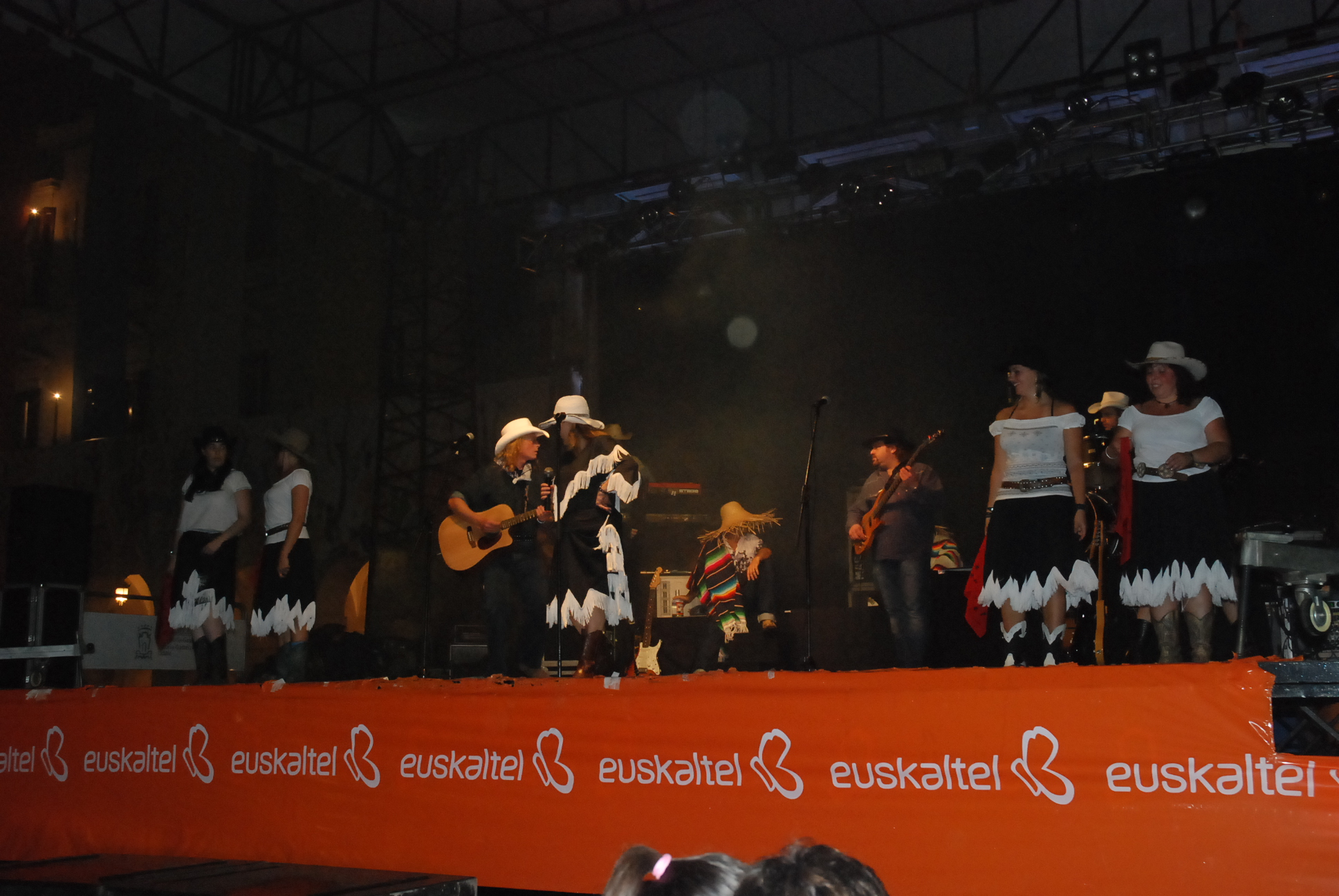Dancing on Stage